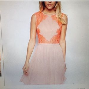 Ted Baker Pink Lace Dress